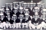 1965, NOVEMBER - JAMES FAIRLIE, HORNPIPE TEAM, RBL FESTIVAL OF REMEMBRANCE, ROYAL ALBERT HALL, I AM FRONT ROW 3RD FROM LEFT.
