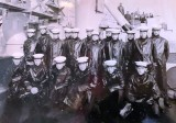 1965, 25TH OCTOBER - BERNARD O'MALLEY, 80 RECR., COLLINGWOOD, 44 MESS, SEA TRAINING ONBOARD HMS GRAFTON TAKEN IN THE ORWELL