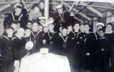 1966 - RAMON RIGG, BENBOW DIVISION, 111-26 CLASSES, BEST MESS, WITH THE CAKE..jpg