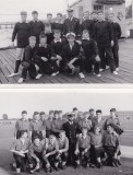 1966 - STEVE PLUMB, CUTTER AND FIELD GUN CREWS. RS JULIAN IN TOP FOTO FRONT ROW CENTRE HE WAS ALSO INSTR. IN 1967, 94 RECR., TO