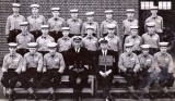 1966-67 - ROGER KILLEN, DRAKE, 91 CLASS. ROGER IS SEATED 2ND FROM RIGHT