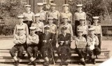 1966-67 - STEVE R.L. MULLINS, GRENVILLE, 134 CLASS, PRINCE, SUTTON, HILL, CPO TIFF DUDLEY, SUTTON, LT. CDR. KEOHAN, BAILY, KEOGA