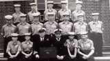 1966, 13TH SEPTEMBER - STEVE SCHOLES, 87 RECR., EXMOUTH, 74 CLASS, 43 MESS, JUNIOR SEAMEN