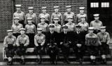 1966, 14TH NOVEMBER - JOHN MCINTYRE, 89 RECR., FROBISHER, F190 CLASS, STOKERS, INSTR. CMEM SPOWAGE. I AM 4TH FROM LEFT BACK ROW