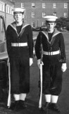 1966-67 - ROGER KILLEN, DRAKE, 91 CLASS, SELF ON RIGHT WITH ON LEFT PADDY STANFIELD