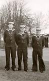 1966, 21ST FEBRUARY – GARY FAULKNER, 82 RECR., RODNEY, 26 CLASS, WITH TONY WHITE AND TREVOR LEWIS.