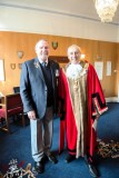 2018, MARCH - FALMOUTH MAYOR WITH RAY NEILSON. THEY JOINED GANGES TOGETHER ON THE SAME DAY IN 1965..jpg