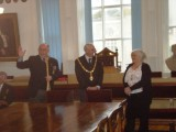 2018, MARCH - FALMOUTH MAYOR WITH SHEP AND LADY MAYORESS 1..JPG