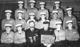 1963, 12TH NOVEMBER - ALAN INGHAM, EXMOUTH, 43 MESS, 291 CLASS, LT. CDR. FORDER, R.S. 'TAFF' HUMPHRIES..jpg