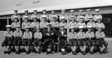 1956, APRIL - AUBREY WOOD, 98 RECR., JELLICO, 2 MESS, CHIEF TEL. POTTS, INSTR. BOY PHILLIPS, I AM FRONT ROW 2ND FROM RIGHT.