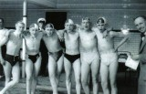 1956, 4TH SEPTEMBER - CHARLIE GREENSMITH, HAWKE, 47 MESS, WATER POLO TEAM, I AM ON THE LEFT..jpg