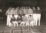 DAVE WILSON - 1971, GANGES LADDER DISPLAY TEAM AT THE ROYAL TOURNAMENT, TREVOR SAPEY AND MARTIN SHEERN ARE IN PHOTO..jpg