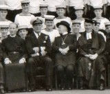 1950 - FRED HARDER, CONFIRMATION CLASS WITH BISHOP OF IPSWICH..jpg
