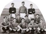 1950 - FRED HARDER, FOOTBALL TEAM, I AM THE GOALIE..jpg