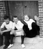 1965, 24TH MAY - JIM WORLDING,  RON HUNTER, MYSELF, DAVE SWATTEN [PROBABLY].