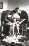 1959, 17TH MARCH - LENNOX INGLIS, 21 RECR, EXMOUTH, 46 MESS, MERVYN HOLMES' BATH TIME.jpg
