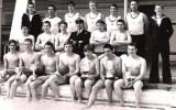 1971, SEPTEMBER - NIGEL EUSTACE, 28 RECR., BENBOW, GANGES WATER POLO TEAM, 04.