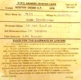 NO DATE - SHAUN GREGAN, MY JOINING CARD..jpg