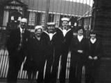PETER DAVIS - 1973 - OUTSIDE THE SCHOOL BLOCK..jpg