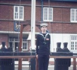 1975, 11TH FEBRUARY - PHIL FRIEND, Q.D., PASSING OUT DAY..jpg