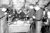 UNDATED - M.S. GANGES, WW1, PROBABLY MAKING ANTI SUBMARINE NETS..jpg