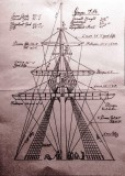UNDATED - THE MAST - A RIGGING PLAN, POSSIBLY USED BY THE RIGGERS OR FROM THEIR RIGGING PLANS..jpg