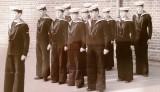 1971 - ROY PEARSON, 22 RECR., BOSUN'S MATES DURING WORK SHIP..jpg
