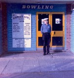 1972 - UNKNOW JNR. FROM DRAKE 9 MESS AT THE BOWLING ALLEY