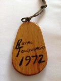 1972 - STEVE EDE, CHAIR TRICKS TEAM, KEY FOB, ROYAL TOURNAMENT. A..jpg