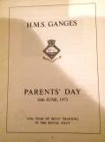 1972, 4TH SEPTEMBER - STEVE SHERBIE BARRETT, 37 RECR., HAWKE, 38 MESS. PARENTS DAY PROG. N