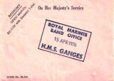1972, APRIL - GLYN FREEMAN, CHANGED OVER TO RMB IN SEPTEMBER 1972 - SEE EMAIL RE ATTACHED ENVELOPE 'THE LAST DAY'.jpg