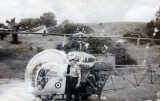 1972, APRIL-1973, JANUARY - CHRIS HIRD, A VISITING ARMY HELICOPTER..jpg
