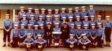 1972, OCTOBER - GARRY FRASER, BULWARK, INSTR., CPO EGGY BOWEN, DEREK HENDERSON 2ND LEFT MIDDLE ROW..jpg