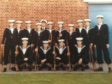 1974, 22ND OCTOBER - MIKE SPICE, FEARLESS, D146 CLASS, I'M 3RD FROM RIGHT FRONT ROW..jpg