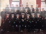 1974, 8TH OCT. - SIMON BARKE, LEANDER, 16MESS, 492 CLASS, JEMs, INSTR. PO STWD WHISKEY WALKER, I AM FRONT ROW ON THE RIGHT.