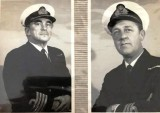 1974, WINTER - SIMON FRENCH, CAPT. MURRAY DUNLOP AND HIS CDR. IAN RILEY, CLOSED GANGES DOWN THEN CAPT. OF HOLBROOK..jpg