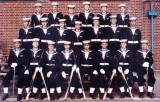 1975, 1ST JULY - MICHAEL McALEER,  6 WEEKS LATER - PASSING OUT GUARD 3..jpg