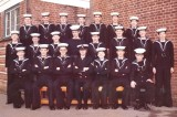 1975, 25TH MARCH - KEVIN BOWMAN, 703 CLASS, INSTR. PO JACK FROST. SEE 2ND IMAGE, REVERSE OF PHOTO FOR NAMES..jpg