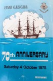 1975, 4TH OCTOBER - DICKIE DOYLE, 70TH ANNIVERSARY PROGRAMME, 01.