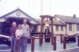 1976, 8TH JUNE - PETER FULLARTON, AFTER LAST PASSING OUT PARADE AT GANGES, MUM , DAD, BROTHER ON QUARTERDECK..jpg