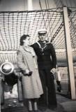 1956, SEPTEMBER - MICK KEECH, WITH MY MOTHER..jpg
