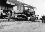 1911 - CDR. SAMSON'S HYDROPLANE BEING PUSHED BACK.JPG