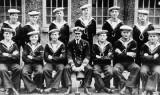 1928 - CRICKET TEAM, P.O. BOY ON LEFT IS LES TURFREY.JPG