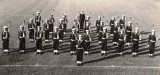 1956, 4TH SEPTEMBER - RICHARD BRONIMAN, HAWKE, 47 MESS, GUARD, MILLER, PRIESTLEY, I AM CENTRE RANK RH, STEELE, LEWIS.