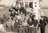 1958, 10TH JUNE - DAVE PARRY, 14 RECR., HAWKE, 47 MESS, 242 CLASS, PO TEL, ANSTEY, MFV TRIP, I AM IN THE WHEELHOUSE.jpg