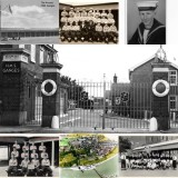 1958, 10TH JUNE - DAVE PARRY, 14 RECR., HAWKE, 47 MESS, 242 CLASS, PO TEL, ANSTEY, GANGES COLLAGE.jpg