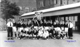 1958, 10TH JUNE - DAVE PARRY, 14 RECR., HAWKE, 47 MESS, 242 CLASS THE MESS GANG
