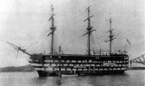 UNDATED - HMS CALEDONIA AT QUEENSFERRY WHEN A TRAINING SHIP - SHE HAS A GANGES CONNECTION.jpg