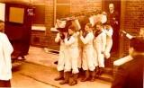 1928, 6TH OCTOBER - FUNERAL OF BOY ALFRED HERBERT JAMES HICKMAN