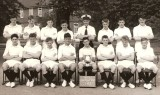 1962, JULY - TERRY WATERSON, HAWKE, 1963 SWIMMING TEAM, P.O. NEWING, IAN SLEE IS HOLDING THE CUP..jpg